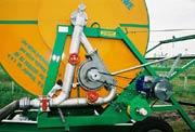 System napędowy deszczowni z wykorzystaniem turbiny wodnej