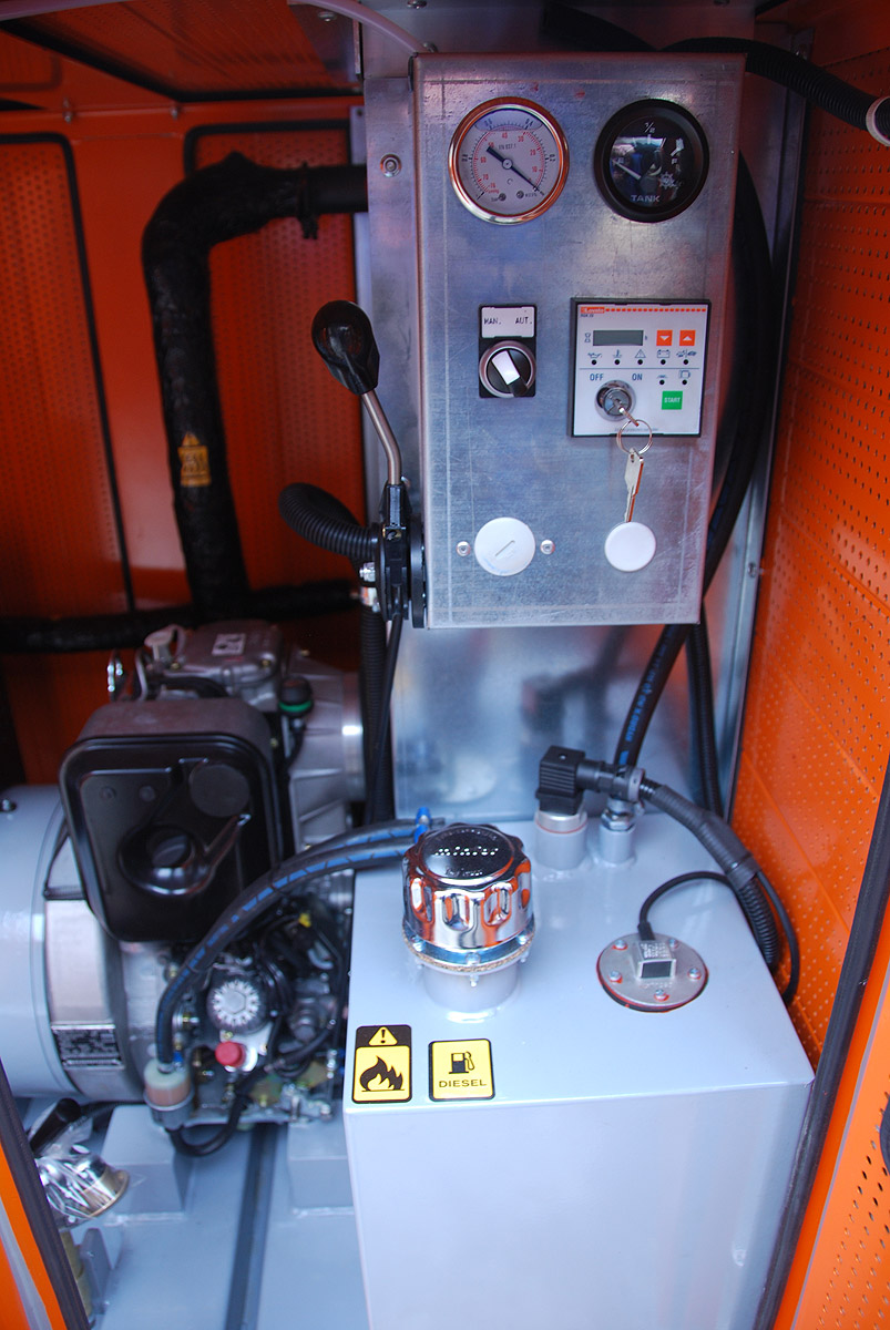 Panel sterujący pompy do igłofiltrów MPD 4/5.5
