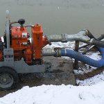 Użytkowanie agregatów pompowych w okresie zimowym