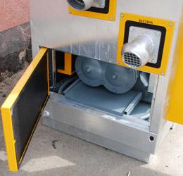 Pompa do igłofiltrów Geho ZD900 - dostęp do pokrywy cylindrów