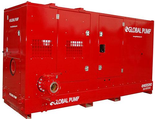 Agregat pompowy Global Pump wyciszony