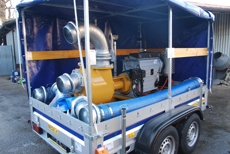 "Victor Pumps S201 - pompa samozasysająca ""8 calowa"""