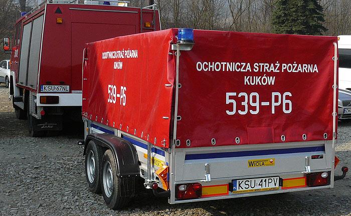 Pompa spalinowa S201 OSP Kuków, Gmina Stryszawa