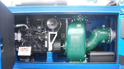 Agregat pompowy oparty o pompę samozasysającą Pioneer P10