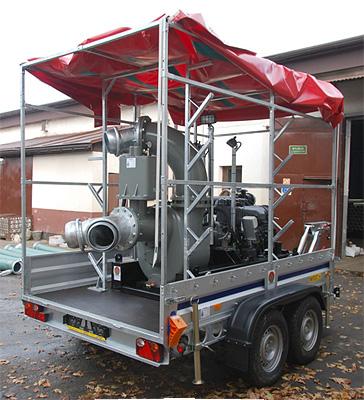 Pompa powodziowa 12 000 l/min