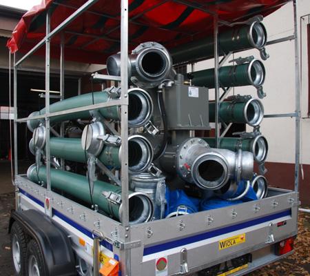 Pompa powodziowa 12 000 l/min dla Gminy Tryńcza