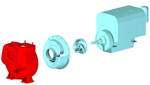Pompy Robusta - modularna konstrukcja