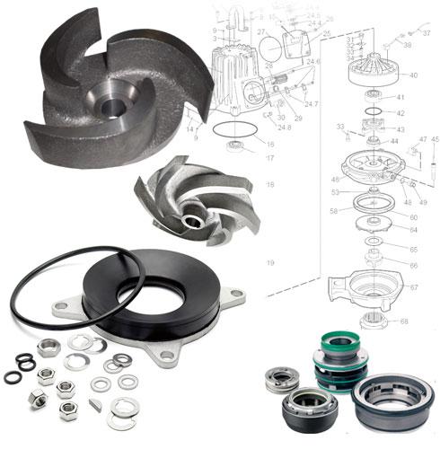 Serwis pomp , części zamienne do pomp, agregatów pompowych, silników