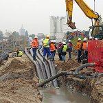 Zastosowanie pompy Global Pump 6GHTAP przy bezwykopowej budowie rurociągu